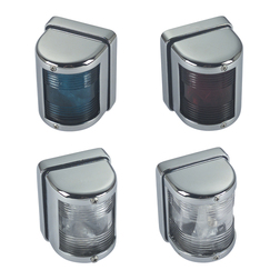 Navigation Lights - Chrome
