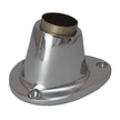 Flag Pole Socket 25mm - Chrome