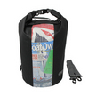 OverBoard Black 30L Waterproof Dry Tube Bag with Window
