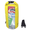 OverBoard Yellow 20L Waterproof Dry Tube Bag with Window