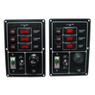 Fused Switch Panel with Horn Push Button