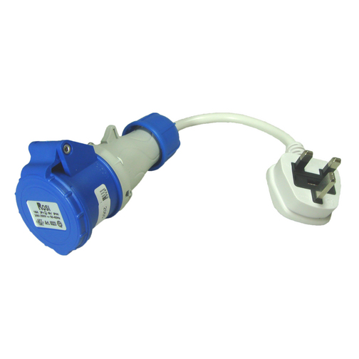 Mains hook up adapter