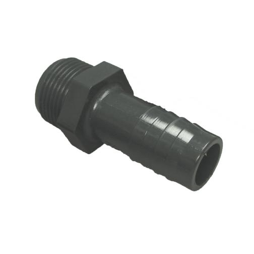 Plastic straight water hose adapters sheridan marine