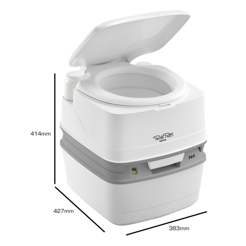 Potty training day 1 Deluxe portable bathrooms