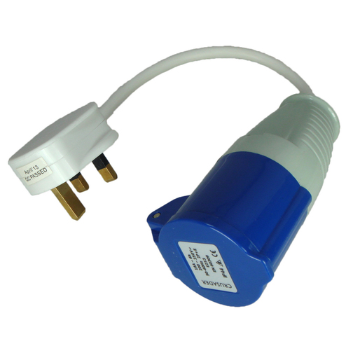 Continental Mains To Caravan Electric Adaptor