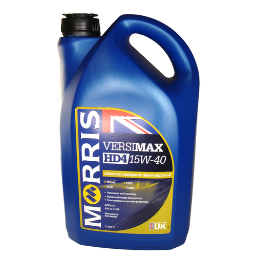 Morris versimax hd4 15w 40 advanced multigrade diesel for Hd 30 motor oil